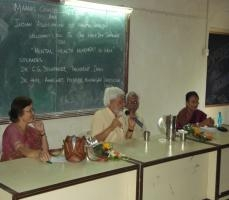State Level Seminar on Mental Health Movement in India