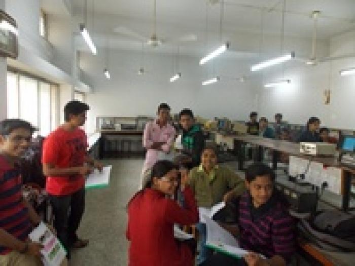 work shops under DBT Star College Program