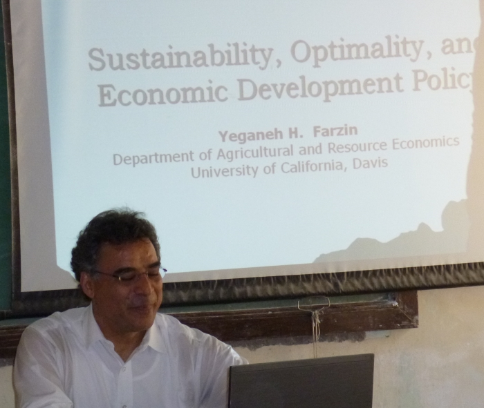 Guest Lecture by Yeganeh H.Farzin