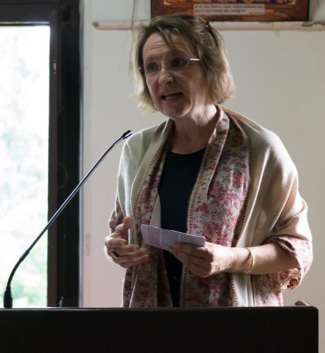 Workshop on German film and Music by Mrs. Evelyn Regenfus